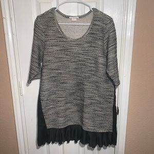 Anthropologie Clu + Willoughby Inkstick Tunic